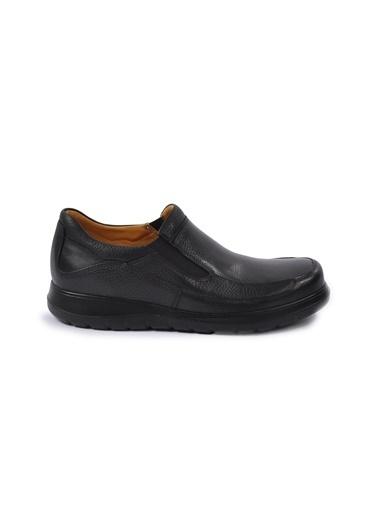 Dr.Flexer Dr.Flexer 815402 N Kalınlığı Yaklaşık 3 Cm Ki Deri Erkek Günlük Ayakkabı Siyah